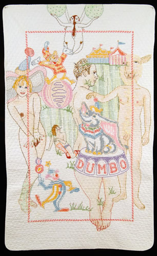 Orly Cogan - painting entitled Dumbo